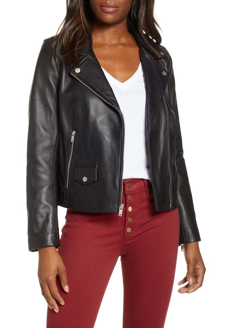 UGG® Alba Leather Moto Jacket