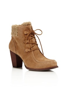 UGG� Analise Lace Up High Heel Booties
