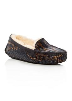 UGG� Ansley Exotic Embossed Velvet Slippers