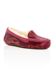 UGG� Ansley Exotic Embossed Velvet Slippers