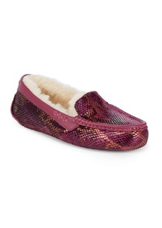 UGG Ansley Exotic Velvet Slippers