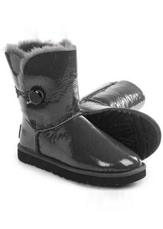 UGG® Australia Bailey Button Mirage Boots - Patent Leather, Sheepskin (For Women)