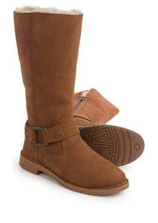 UGG® Australia Braiden Boots - Suede, Sheepskin Lined (For Women)