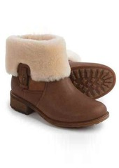 UGG® Australia Chyler Leather Boots - Sheepskin Lined (For Women)