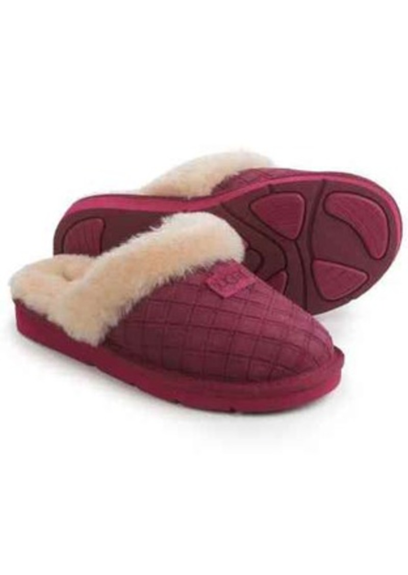 8d38ebf5a07 ® Australia Cozy Double-Diamond Moccasin Slippers - Suede (For Women)