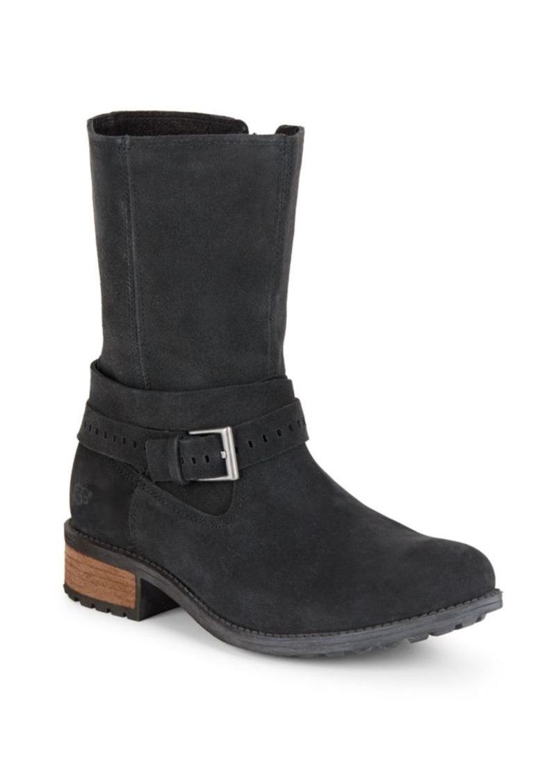 UGG Australia Kiings Suede Boots