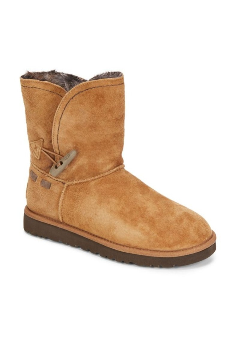 UGG Meadow Shearling-Lined Suede Boots