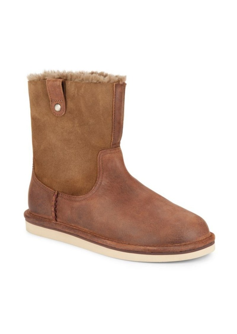 UGG Australia Sequoia Leather & Suede Boots