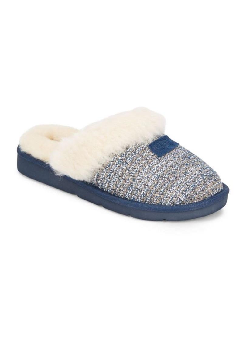 UGG Cozy Fancy Shearling Slippers