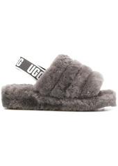 UGG slingback woolly slippers