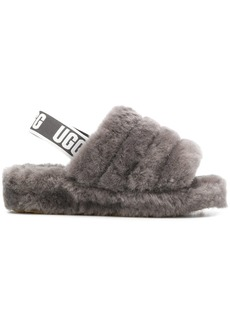 UGG slingback woolly slippers