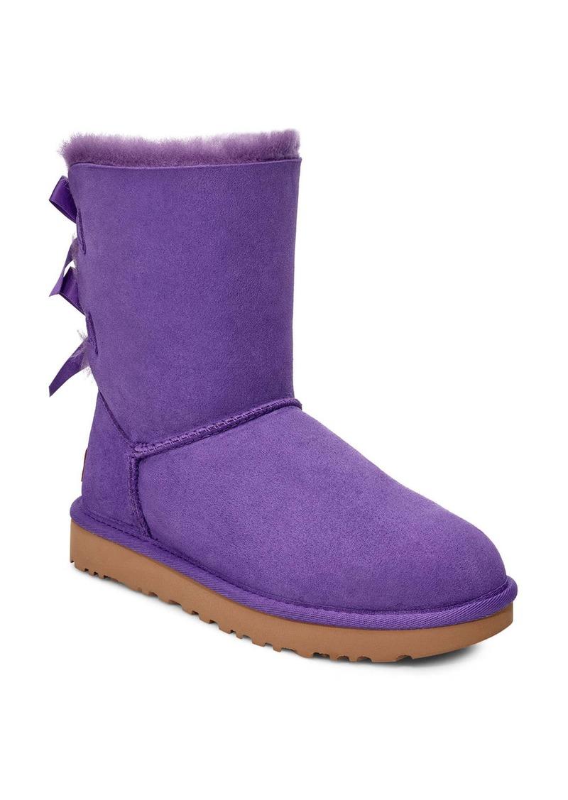 UGG® Bailey Bow II Genuine Shearling Boot (Women)