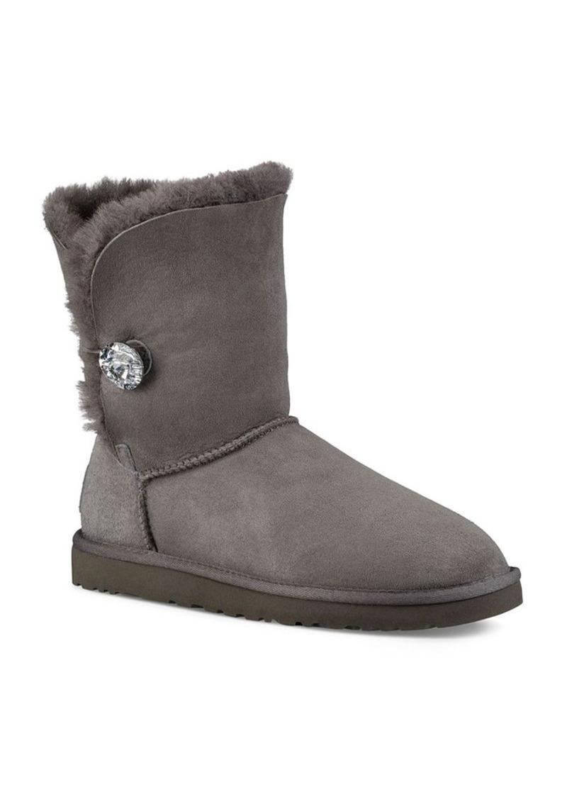 UGG® Bailey Button Bling Sheepskin Booties