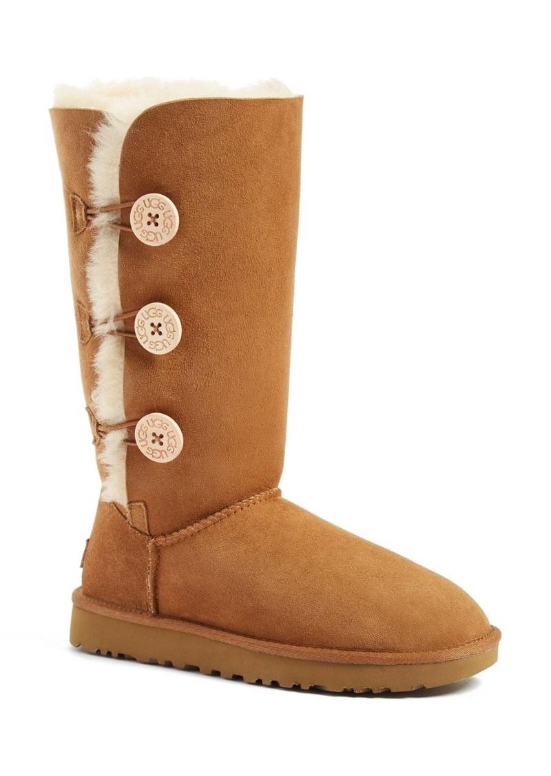 UGG® Bailey Button Triplet II Genuine Shearling Boot (Women)