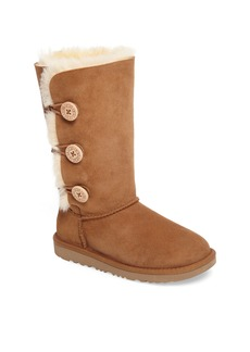 UGG® Bailey Button Triplet II Genuine Shearling Boot (Little Kid & Big Kid)
