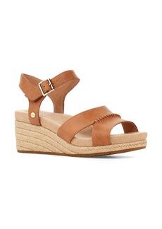 UGG® Berryessa Espadrille Wedge Sandal (Women)