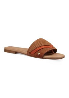 UGG� Binx Suede Fringe Slide Sandals