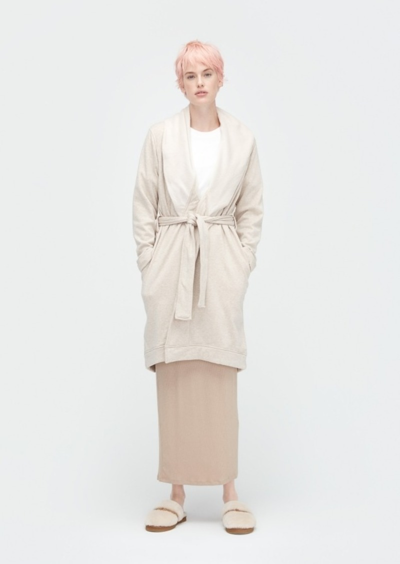 Ugg Blanche Ii Double-Knit Fleece Robe