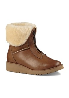 UGG� Caleigh Leather and Sheepskin Booties
