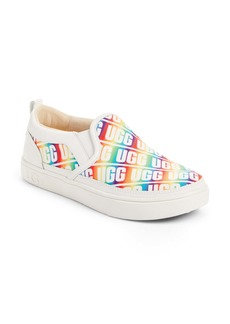 UGG® Caplan Logo Slip-On Sneaker (Little Kid & Big Kid)