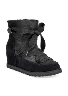 UGG® Classic Femme Lace-Up Bootie (Women)