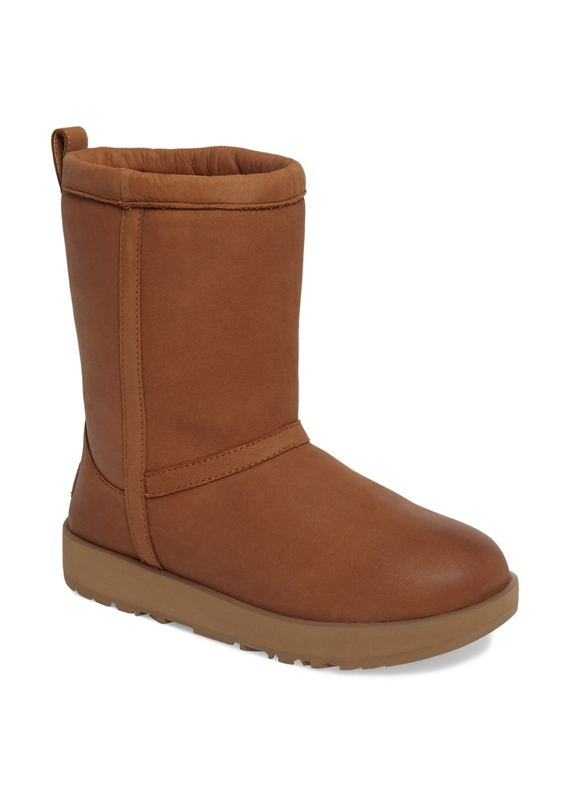 UGG® Classic Short Waterproof Boot (Women)