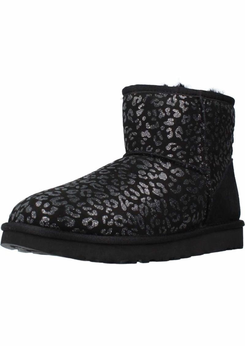 UGG Classic Mini Snow Leopard Boot  Size
