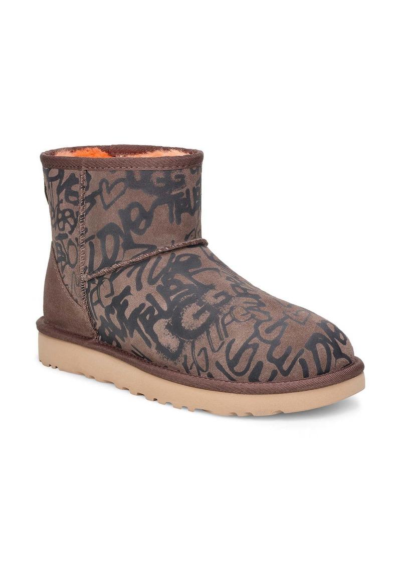 UGG® Classic Mini Street Graffiti Boot (Women)