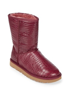 UGG Classic Short Crocodile Embossed Boots