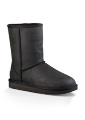 UGG� Classic Short Leather and Sheepskin Booties