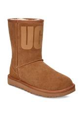 UGG® Classic Short Logo Boot (Women)
