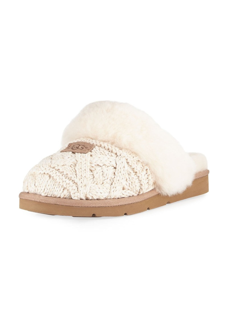 4fdfa3e47d1b On Sale today! UGG UGG Cozy Cable Knit Slide Slipper