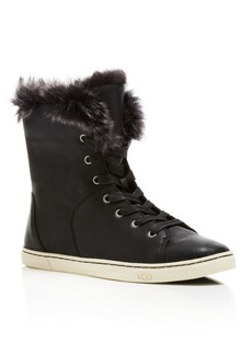 UGG� Croft Sheep Cuff High Top Sneakers - 100% Exclusive