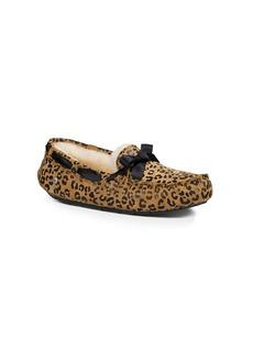 "UGG® ""Dakota Leopard Bow"" Mocassins"
