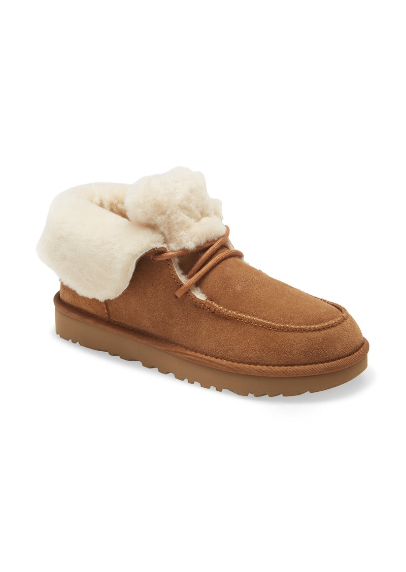 UGG® Diara Genuine Shearling Bootie (Women)