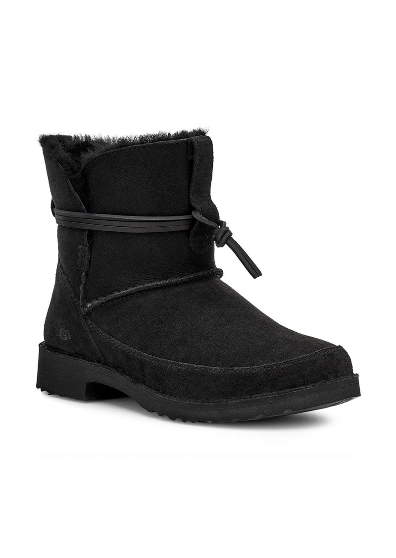 UGG® Esther Genuine Shearling Bootie (Women)