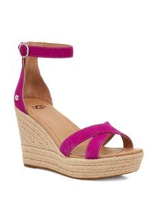 UGG® Ezrah Espadrille Wedge Sandal (Women)
