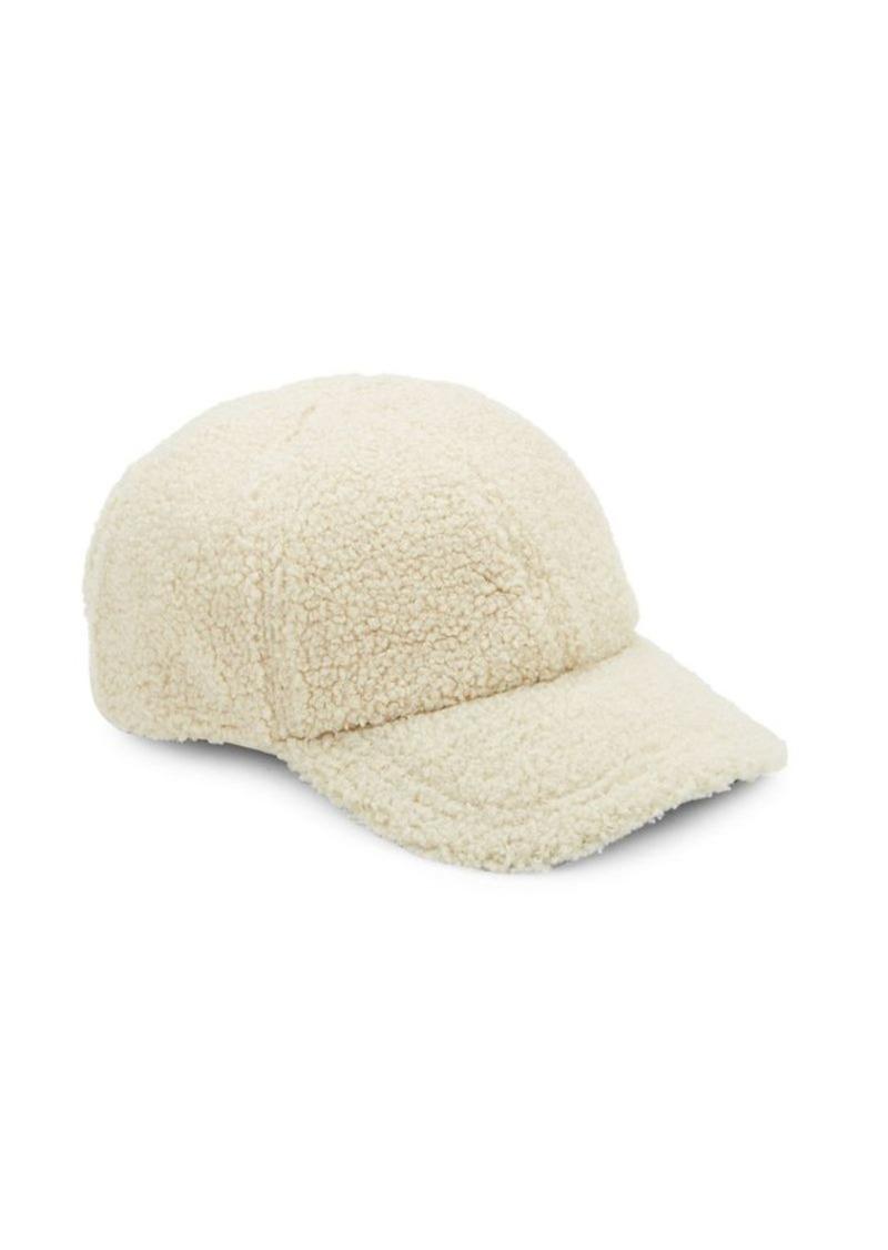 72200f371 Faux Shearling Baseball Cap