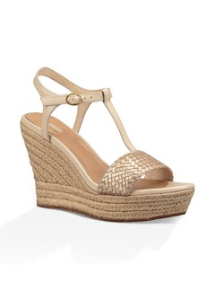 "UGG® ""Fitchie Ll"" Wedge Sandals"