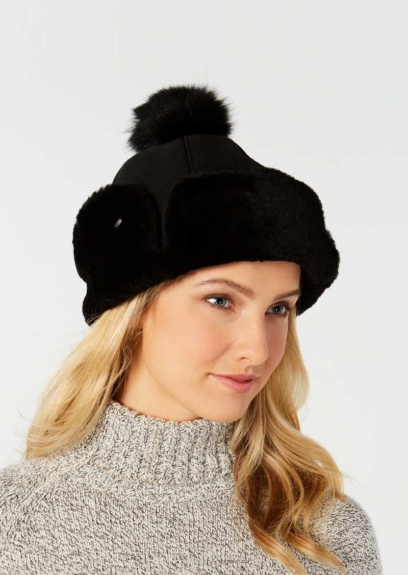 Ugg Flap Shearling Hat