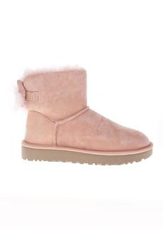 UGG Fluff Pink Mini Boots