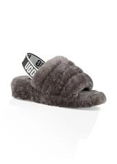 UGG® Fluff Yeah Genuine Shearling Slingback Sandal (Women)