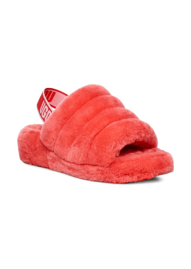 UGG® Fluff Yeah Genuine Shearling Slide (Women)