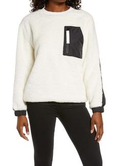 UGG® Furry Crewneck Sweatshirt