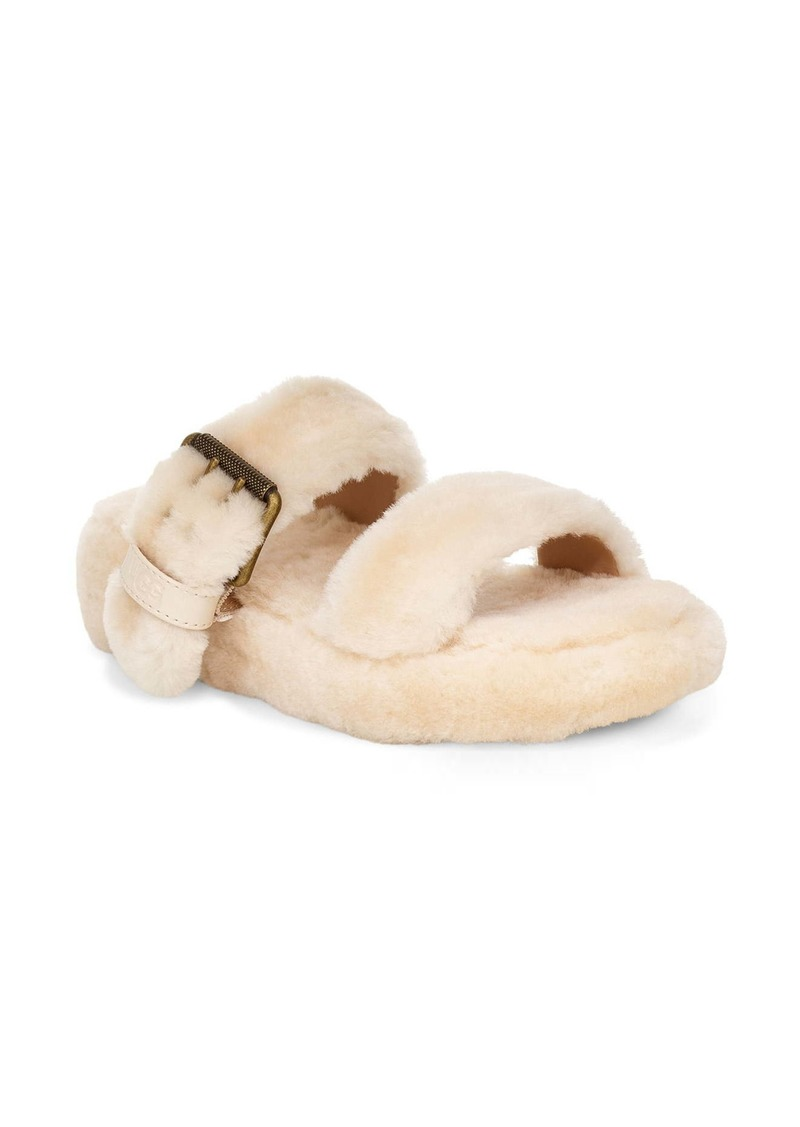UGG® Fuzz Yeah Genuine Shearling Slide (Women)