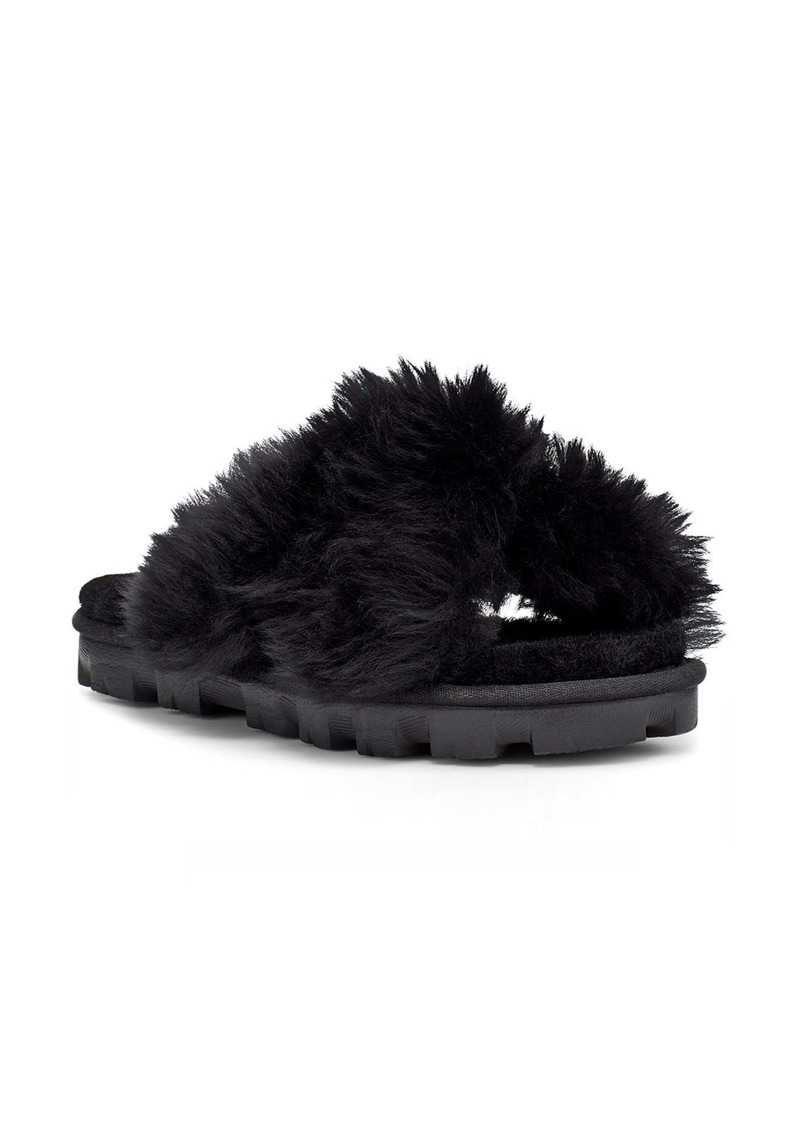 UGG® Fuzzalicious Genuine Shearling Slipper (Women)