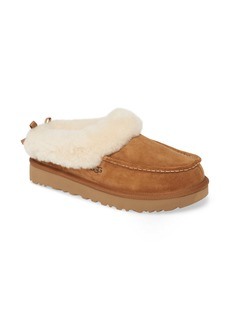 UGG® Grove Genuine Shearling Trim Slipper (Women)