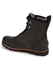 UGG® Hannen Plain Toe Waterproof Boot with Genuine Shearling (Men)