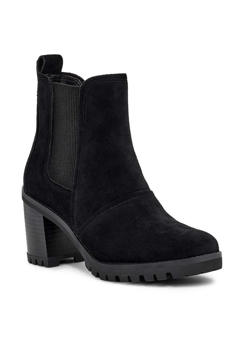 UGG® Hazel Waterproof Block Heel Bootie (Women)
