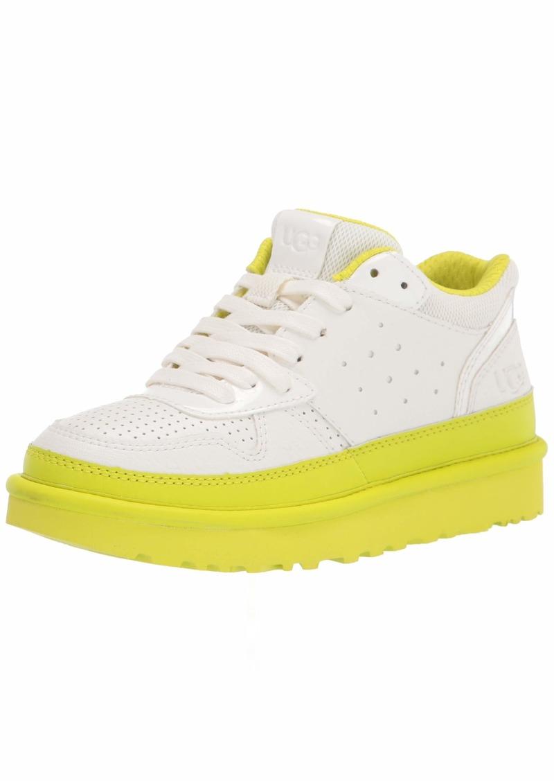 UGG Highland Sneaker Sneaker White / Sulfur Size